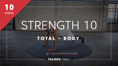 Strength 10 with Marc by TITLE Boxing Club