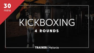 Kickboxing 30 with Melanie by TITLE Boxing Club