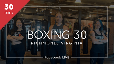 Boxing 30 with Richmond, VA by TITLE Boxing Club