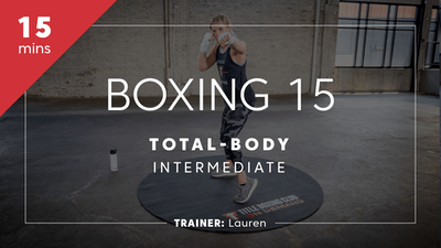 Boxing 15 with Lauren by TITLE Boxing Club