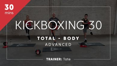 Kickboxing 30 with Tate | Total-Body Advanced by TITLE Boxing Club