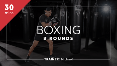 Boxing 8 Rounds with Michael by TITLE Boxing Club