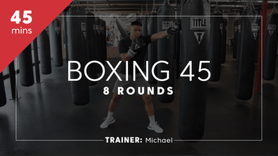 Boxing 45 with Michael by TITLE Boxing Club
