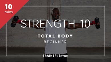 Strength & Power 10 with Bryan | Total-Body Beginner by TITLE Boxing Club