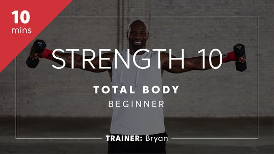 Get access to Strength & Power 10 with Bryan | Total-Body Beginner by TITLE Boxing Club
