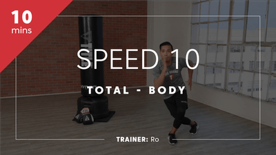 Speed 10 with Ro by TITLE Boxing Club