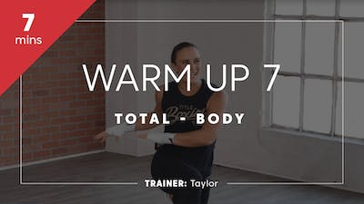 Warm Up 7 with Taylor by TITLE Boxing Club