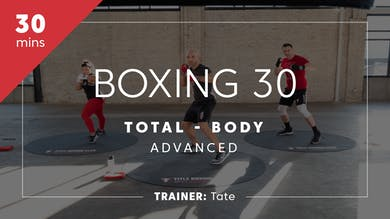 Boxing 30 with Tate | Total-Body Advanced by TITLE Boxing Club