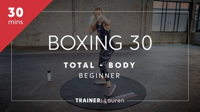 Boxing 30 with Lauren | Total-Body Beginner by TITLE Boxing Club