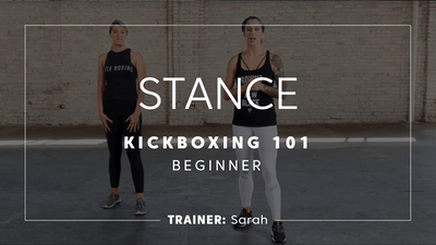 Kickboxing 101 | Stance by TITLE Boxing Club