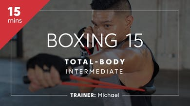 Boxing 15 with Michael | Total-Body Intermediate by TITLE Boxing Club