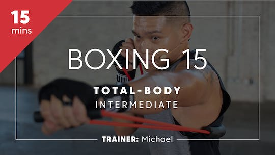 Get access to Boxing 15 with Michael | Total-Body Intermediate by TITLE Boxing Club