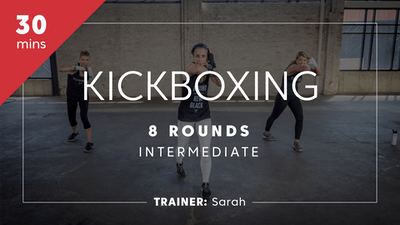 Kickboxing 8 Rounds with Sarah by TITLE Boxing Club