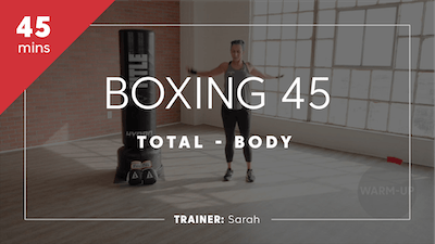 Boxing 45 with Sarah by TITLE Boxing Club
