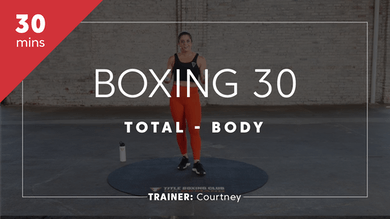 Boxing 30 with Courtney by TITLE Boxing Club