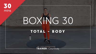Boxing with Courtney by TITLE Boxing Club