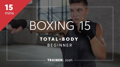 Instant Access to Boxing 15 with Josh | Total-Body Beginner by TITLE Boxing Club, powered by Intelivideo
