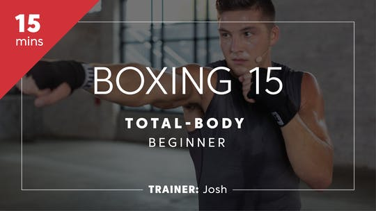 Get access to Boxing 15 with Josh | Total-Body Beginner by TITLE Boxing Club