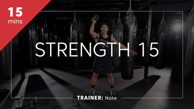 Strength 15 with Nate by TITLE Boxing Club