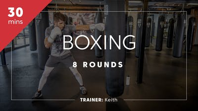 Boxing 8 Rounds with Keith by TITLE Boxing Club