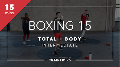 Boxing 15 with Ro | Total-Body Intermediate by TITLE Boxing Club