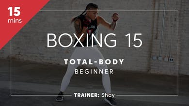 Boxing 15 with Shay | Total-Body Beginner by TITLE Boxing Club