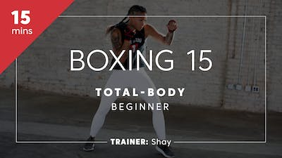 Instant Access to Boxing 15 with Shay | Total-Body Beginner by TITLE Boxing Club, powered by Intelivideo