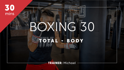 Boxing 30 with Michael by TITLE Boxing Club