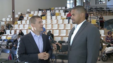 Ryan Harris with Matt Phillips by DSWLive