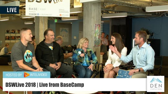 Instant Access to Denver Startup Week Founders by DSWLive, powered by Intelivideo