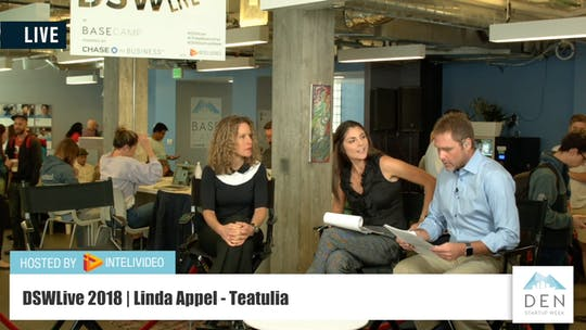 Instant Access to Linda Appel | Co-Founder & CEO of Teatulia Organic Teas by DSWLive, powered by Intelivideo