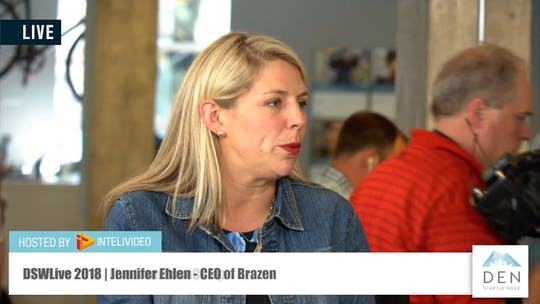 Instant Access to Jennifer Ehlen | CEO of Brazen by DSWLive, powered by Intelivideo