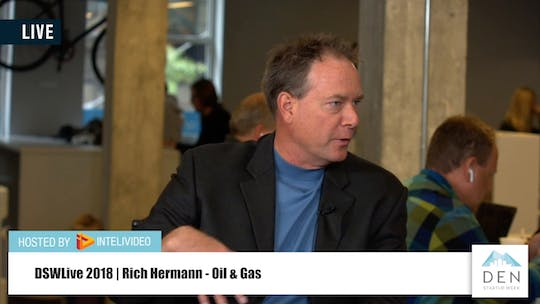 Instant Access to Rich Hermann | Director (VP) of Product at Oseberg by DSWLive, powered by Intelivideo