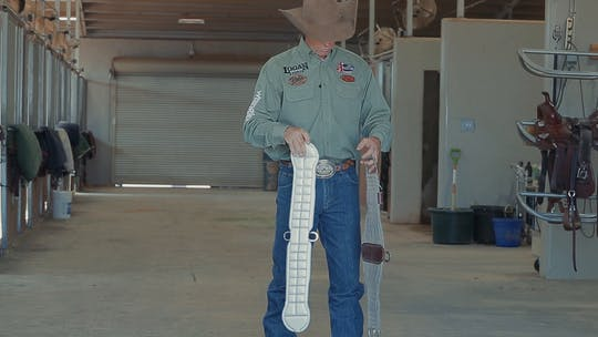 Get access to Brad Barkemeyer: Choosing a Cinch & Proper Cinch Adjustment by Horse&Rider OnDemand