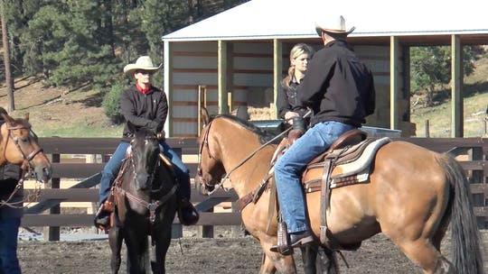 Get access to Brad Barkemeyer: Backup Exercise by Horse&Rider OnDemand