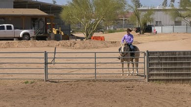 Bud Lyon: Ranch Riding Gate by Horse&Rider OnDemand