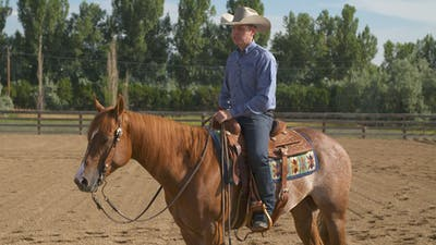 Bud Lyon: Extended Lope to Trot Transition by Horse&Rider OnDemand