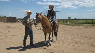 Brad Barkemeyer: Introducing a Rider to Working the Flag by Horse&Rider OnDemand