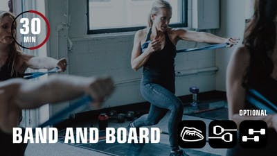 Band and Board by Obsidian Fitness