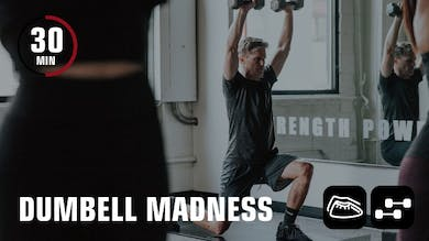 Dumbbell Madness by Obsidian Fitness
