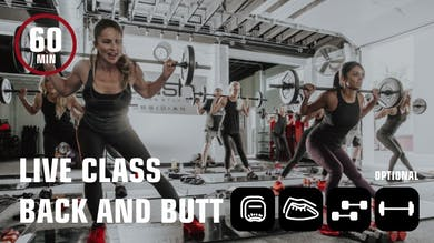 Live Class Back and Butt by Obsidian Fitness