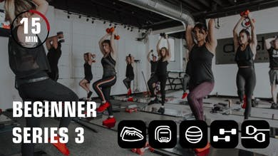 Beginner Series 3 by Obsidian Fitness