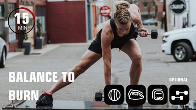 Balance to Burn by Obsidian Fitness