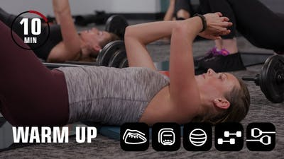 10 Minute Warm Up by Obsidian Fitness