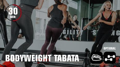 Bodyweight Tabata by Obsidian Fitness