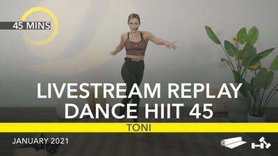 REPLAY DANCE HIIT 45 by Jazzercise On Demand