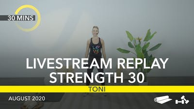 REPLAY STRENGTH 30 by Jazzercise On Demand