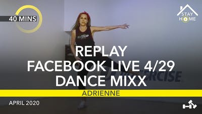 REPLAY FACEBOOK LIVE 4/29/20 by Jazzercise On Demand