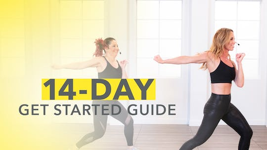 14-DAY GET STARTED GUIDE by Jazzercise On Demand