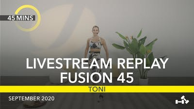 REPLAY FUSION 45 by Jazzercise On Demand